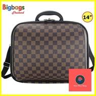 กระเป๋าเดินทาง ร้านแนะนำBigbagsThailand กระเป๋าเดินทาง กระเป๋าสะพายข้าง พร้อมหูถือ สอดคันชักกระเป๋าเดินทาง 14 นิ้ว Travel Folding Bag รุ่น MZ489 เคสเดินทาง