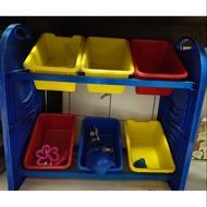 二手玩具收納櫃 8成新