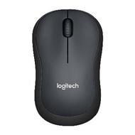 Logitech M221靜音無線滑鼠(黑)