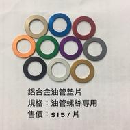 傑能 Jz bikes 鋁合金油管墊片 油管螺絲專用