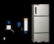 請先來電詢問有無庫存★杰米家電☆ (預購) Panasonic 481公升 三門變頻無邊框電冰箱 NR-C489TV
