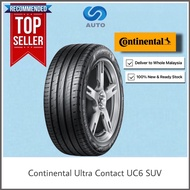 Deliver Only | Continental Conti Ultra Contact UC6 SUV Car Tyre 215/65R16 225/55R19 235/55R19 235/60R18 225/60R18 235/55R17 235/65R17 225/55R18 225/60R17 215/60R17 225/65R17