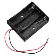 5pcs 4 Slots 18650 Battery Holder Plastic Case Storage Box for 4*3.7V 18650 Lithium Battery