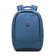 【DELSEY】SECURBAN-13.3吋筆電後背包-藍色 00333460312