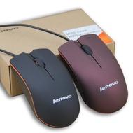 免運 現貨  光學滑鼠 USB滑鼠 聯想滑鼠M20有線靜音家用 辦公通用USB筆記本臺式監控錄像機小光電