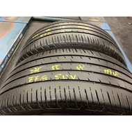 *正順車業* 中古輪胎 中古胎 落地胎 維修 保養 底盤 型號: 235 55 18 固特異 EFG SUV X2條