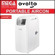 AVOLTA A015A-14C 4-IN-1 PORTABLE AIRCON (14000BTU)