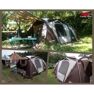 【悠遊戶外】camp plus 氣候達人訂製款210D抗撕裂銀膠頂布 對應 氣候達人 2-room STD Coleman
