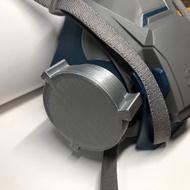 3M防毒面罩過濾器3m 防毒面具 轉換器替代方案 可夾口罩不織布節省濾棉濾罐 7502 7093 6202 3D列印代印