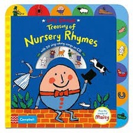 全新現貨 Lucy Cousins Treasury of Nursery Rhymes Book and CD