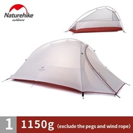 Naturehike Cloud Up 2 and 1 (Upgraded) Ultralight เต็นท์ น้ำหนักเบา Freestanding Tent