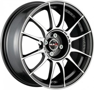 """18"""" M.A.K XLR 5x114 Lightweight Rims Made in Italy"""