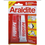 กาวอิพ๊อกซี่Araldite ขาวแดงแห้งเร็ว5นาที