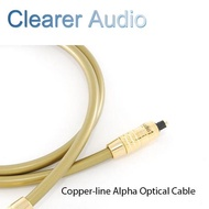 CLEARER AUDIO COPPER-LINE ALPHA OPTICAL CALBE SPECIFICATION 1M