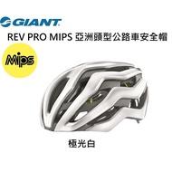 2020新品 捷安特 GIANT REV PRO MIPS 亞洲頭型公路車安全帽 極光白