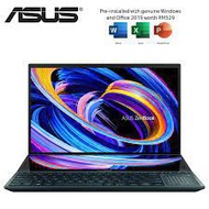 Asus ZenBook Duo 14 UX482E-GHY071TS 14'' FHD Touch Laptop Celestial Blue( I5-1135G7, 8GB, 512GB SSD, MX450 2GB, W10, HS)