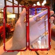 跨境爆款 紅米Note5pro 6pro 7/7pro萬磁王 手機殼 金屬邊框 小米9 手機套