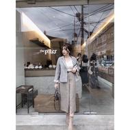 轉賣 ✨全新✨格紋西裝外套 w正韓服飾
