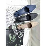 ร้านแนะนำรองเท้ายางคัชชู รุ่นรัดส้น TX905 รองเท้าส้นตึกสำหรับผู้หญิง แบบซิลิโคน ยืดหยุ่น ไม่กัดเท้า รองเท้ารัดส้น
