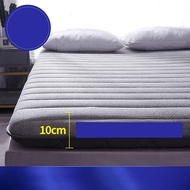 WYMNAME Emulsion Japanese Floor Futon Mattress, Foldable Roll Up Mattress Tatami Mat Sleeping Pad for Camping Guests Adults