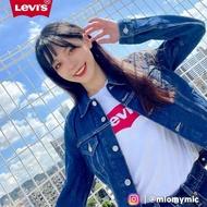 【LEVIS】女款 牛仔外套 Original 經典修身版型 原色基本款