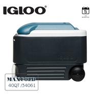 IGLOO MAXCOLD系列五日鮮40QT拉桿冰桶34061 / 城市綠洲(美國製造,保冷,保鮮,五天、露營冰桶)