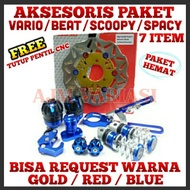 Ajm Variations Of Honda Matic Beat Vario Spacy Scoopy Disc Jalu Axle Foot Step Motor Accessories
