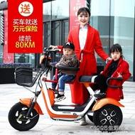 電動車 電動三輪車家用老年人代步車小型老人電瓶車接送孩子女士新款迷你 雲雨尚品