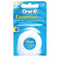 【便利商店】歐樂B Oral-B 牙線  薄荷微蠟 50公尺