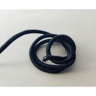 【shaner's手作】黑色圓實心 2mm 髮飾用鬆緊繩.口罩繩
