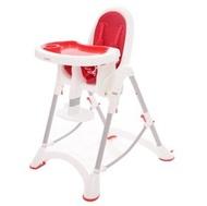 台灣製 myheart 折疊式兒童安全餐椅(蘋果紅)【紫貝殼】