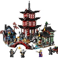 樂高LEGO 70751 忍者系列: 空術神廟 Temple of Airjitzu (二手)