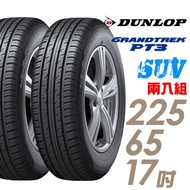 【DUNLOP 登祿普】GRANDTREK PT3 SUV 穩定操控輪胎_二入組_225/65/17(車麗屋)