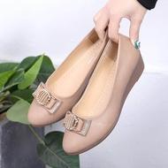 ✨✨รองเท้าคัชชู รองเท้าส้นแบน รองเท้าผู้หญิง รองเท้าทำงาน✨✨