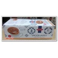 Φ小知足ΦCOSTCO代購 DAELMANS STROOPWAFELS荷蘭焦糖煎餅18包/盒(蛋奶素) 全館合併運費