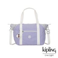 Kipling 法式丁香紫手提側背包-ART