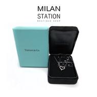 【台中米蘭站】TIFFANY 950白金16顆鑽愛心項鍊