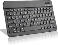 Wireless Keyboard for Surface Go 2 (2020),Universal Slim Portable Bluetooth Keyboard Compatible with Surface Go 2 (2020) Keyboard with Built in Rechargeable Battery,Black