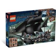 Lego 4184 神鬼奇航 黑珍珠 拆盒全新