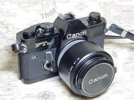 【收藏古典&體驗銀鹽】Canon FTb + FD 50/1.4 F-1的精簡版/全機械底片相機
