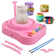 Pottery Wheel, Pottery Studio, Craft Kit, Artist Studio, Ceramic Machine with Clay, Educational Toy for Kids Beginners