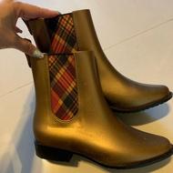 Vivienne Westwood x Melissa 香香膠鞋 金色 雨鞋