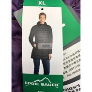 EDDIE BAUER 女 羽絨外套 連帽 長版 保暖 舒適 輕盈 羽絨 外套 零碼 出清 COSTCO 代購 好市多