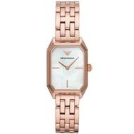 EMPORIO ARMANI 亞曼尼 AR11147  閃耀珍珠貝時尚女錶/白面24mm