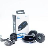 『id221』MOTO A1 騎士藍芽通訊系統 摩托車藍芽耳機 安全帽耳機 耳機套 海綿套 高音質