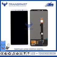 Lcd + Touchscreen Oppo F5 - A73 - F5 Youth Tampilan Layar Sentuh Digital
