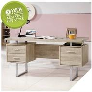 書桌【YUDA】康迪仕 淺木色 寫字桌/工作桌/電腦桌 J9S 547-2