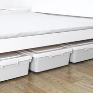 特大號床底收納箱扁平抽屜式塑料收納盒子床下整理箱 NMS