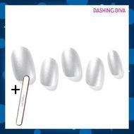Dashing Diva - Glaze ZMC096 銀魔鏡(Gel甲片,需照燈) 加配 品牌指甲銼