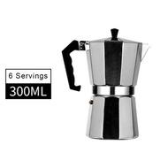 Moka Potหม้อกาแฟ หม้อต้มกาแฟสด เครื่องชงกาแฟเอสเพรสโซ่ มอคค่า กาต้มกาแฟสด เครื่องชงกาแฟสด เครื่องทำกาแฟ แบบปิคนิคพกพา Moka coffee pot Simplekey